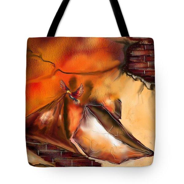 Hidden True Tote Bag