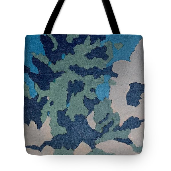 Hidden Valley Abstraction Tote Bag