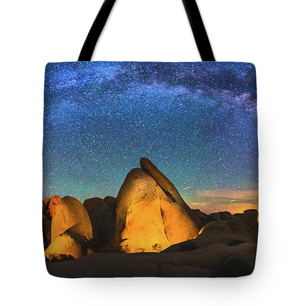 Hidden Valley Milky Way Tote Bag by Robert Loe