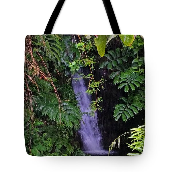 Small Hidden Waterfall  Tote Bag