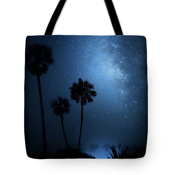 Tote Bag featuring the photograph Hidden Worlds by Mark Andrew Thomas