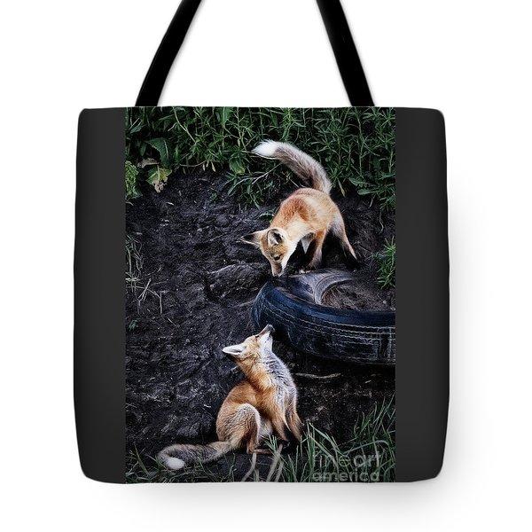 Hide-and-seek Tote Bag