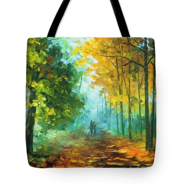 Hide And Seek  Tote Bag by Leonid Afremov
