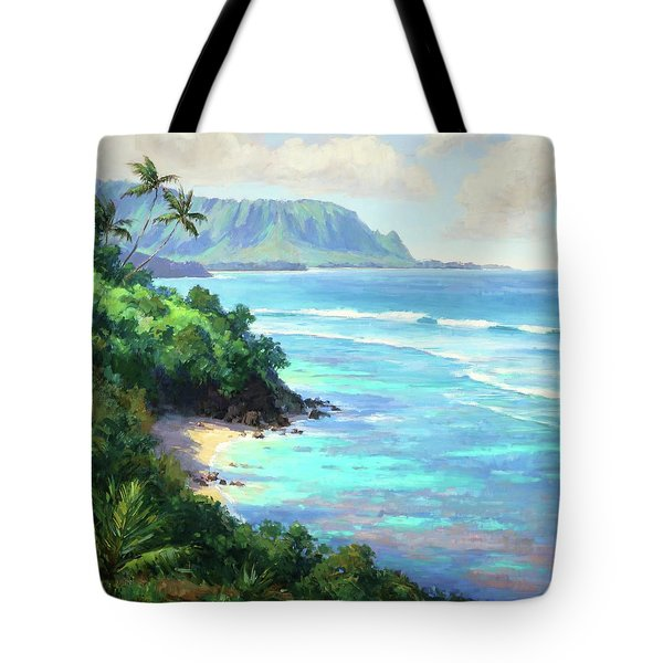 Hideaways Beach Tote Bag by Jenifer Prince