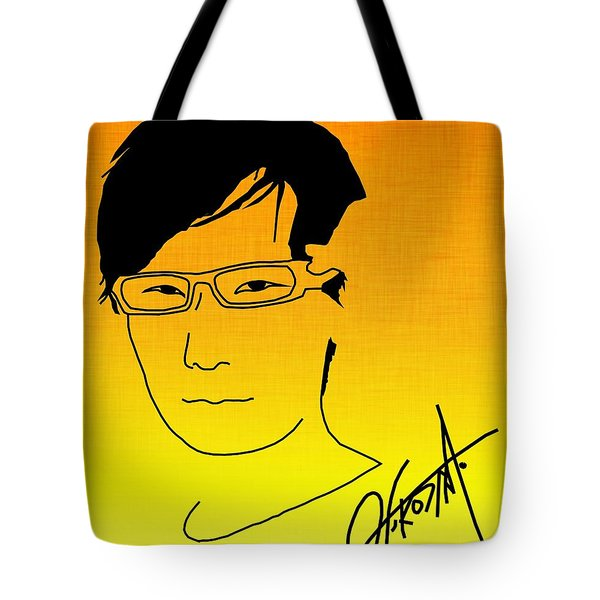 Hideo Kojima Tote Bag