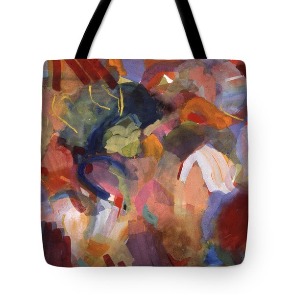 Hiding From Life Around Me Tote Bag