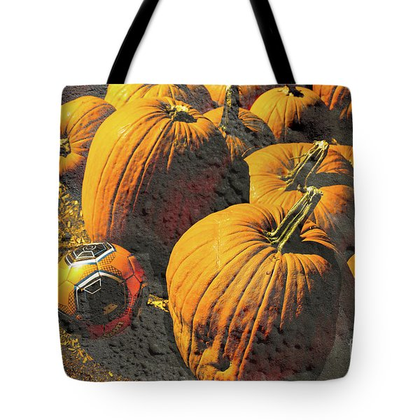 Hiding In Plain Pumpkin Tote Bag