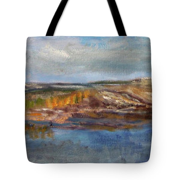 Tranquility Tote Bag by Michael Helfen