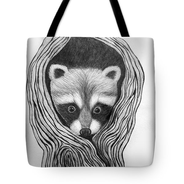 Hiding Out Tote Bag by Nick Gustafson