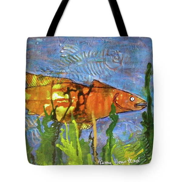 Hiding Out Tote Bag by Terry Honstead