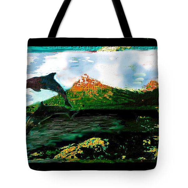 Hiding Your Love Tote Bag