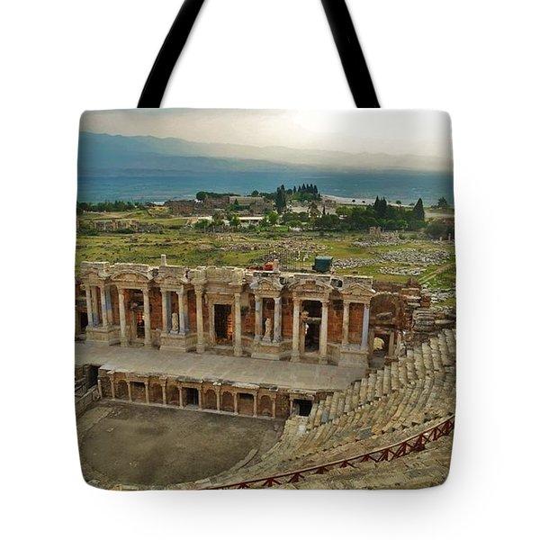 Hierapolis Theater Tote Bag