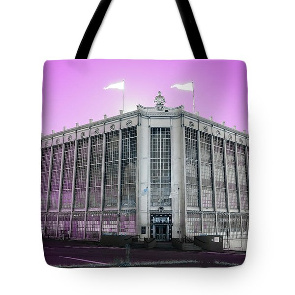 Higgins Armory In Infrared Tote Bag