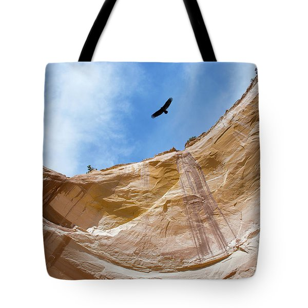 High Above Echo Amphitheater Tote Bag