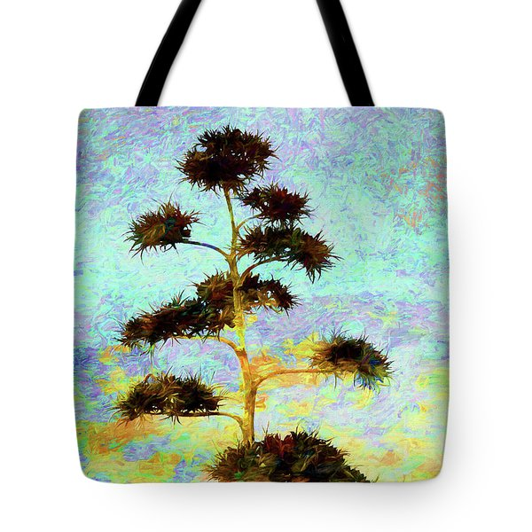 High Above The City Tote Bag by Declan O'Doherty