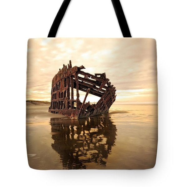 High And Dry, The Peter Iredale Tote Bag