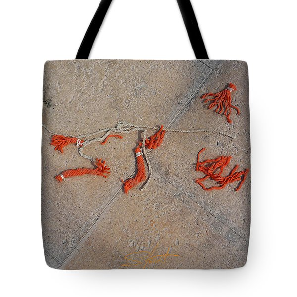 High And Dry Tote Bag by Charles Stuart