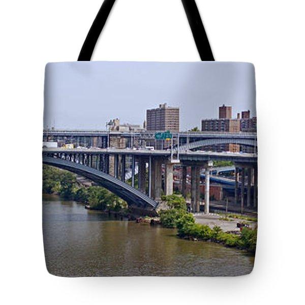 High Bridge Panorama Tote Bag