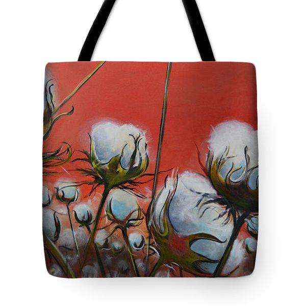 High Cotton In Reds Tote Bag