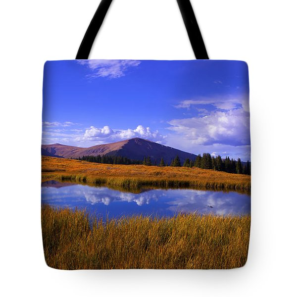 High Country Pond Tote Bag