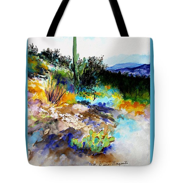 High Desert Scene Tote Bag