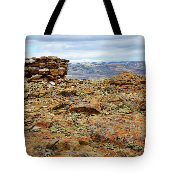 High Desert Cairn Tote Bag