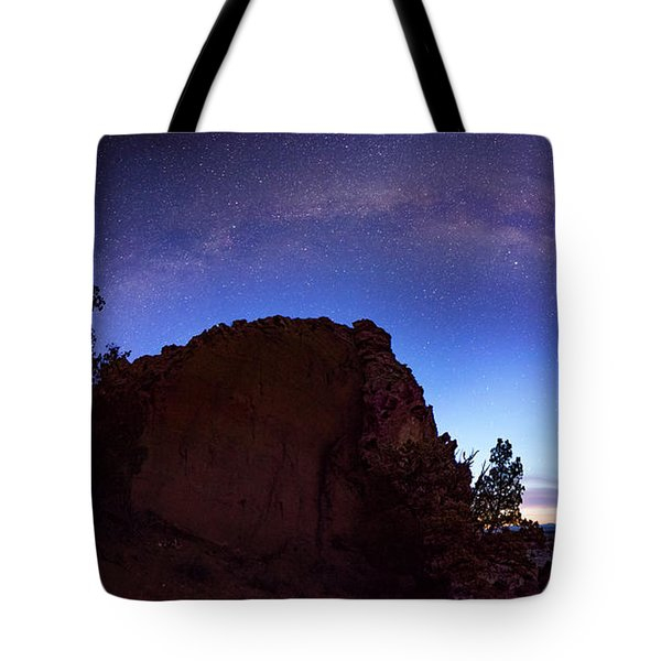 High Desert Dawn Tote Bag by Leland D Howard