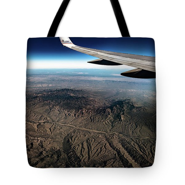 High Desert From High Above Tote Bag