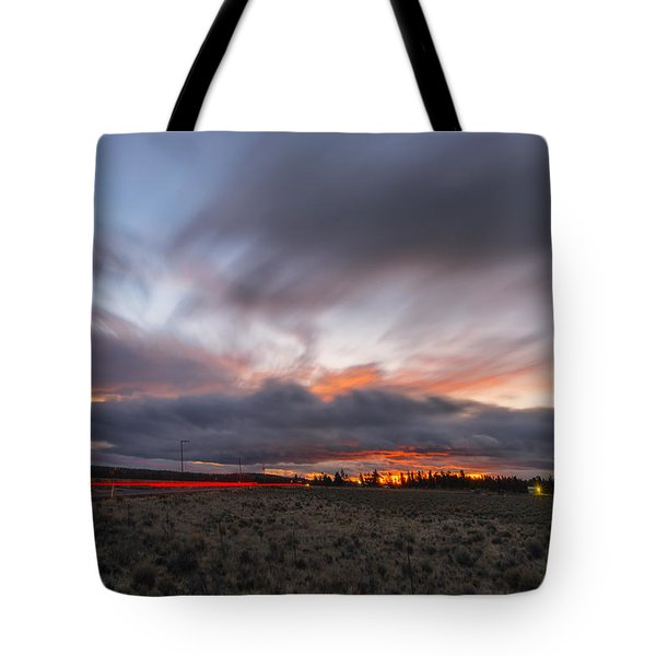 High Desert Twilights Tote Bag by Ryan Manuel