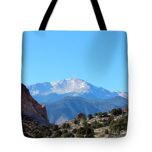 High Desert Winter Tote Bag