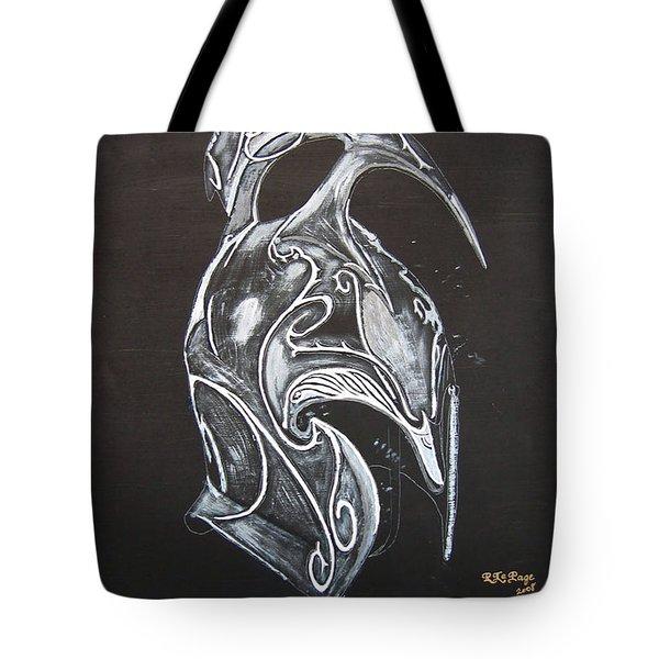 High Elven Warrior Helmet Tote Bag