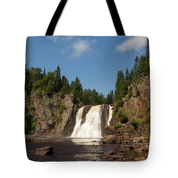 High Falls At Tettegouche State Park Tote Bag