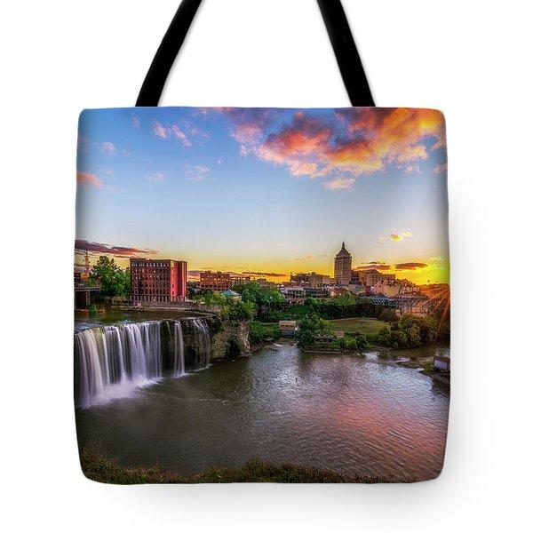 High Falls Rochester Ny Tote Bag