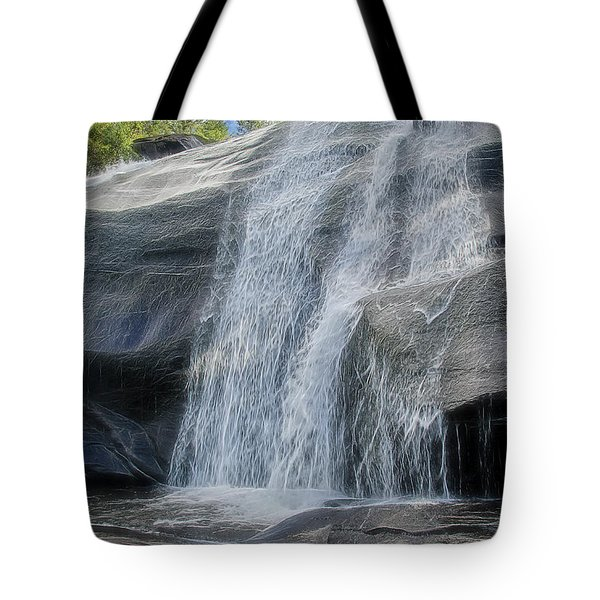 High Falls Two Tote Bag by Steven Richardson