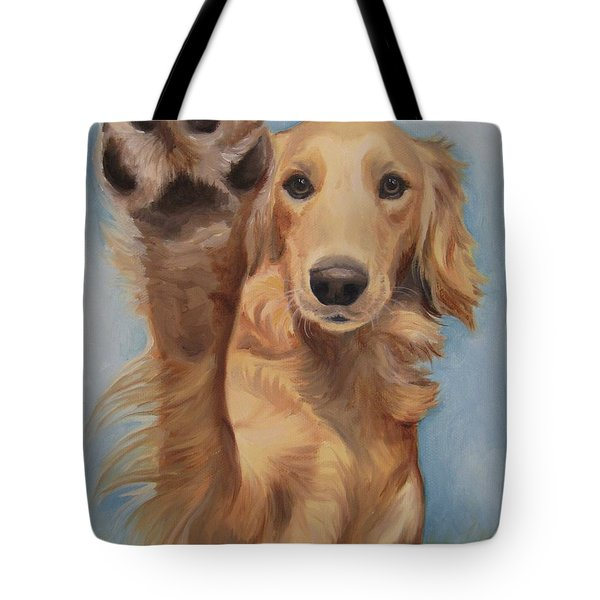 High Five Tote Bag