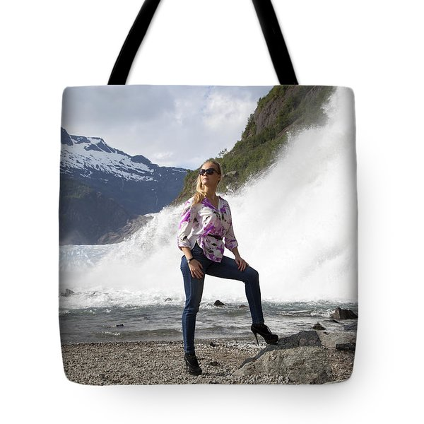 High Heels Hiking Tote Bag