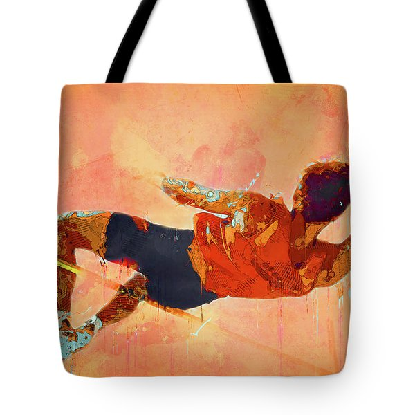 High Jumper Tote Bag