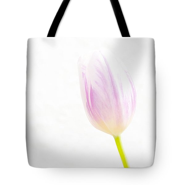 High Key Tulip Tote Bag