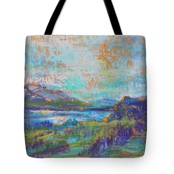 High Lake Tote Bag