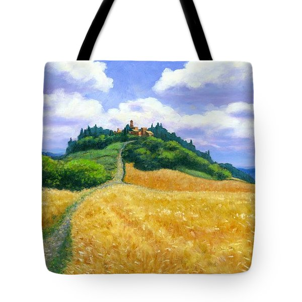 High Noon Tuscany  Tote Bag by Michael Swanson