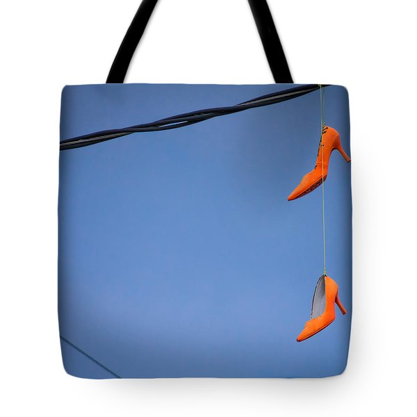 High On Orange Tote Bag