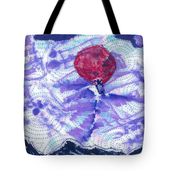 High Over The Rockies Tote Bag