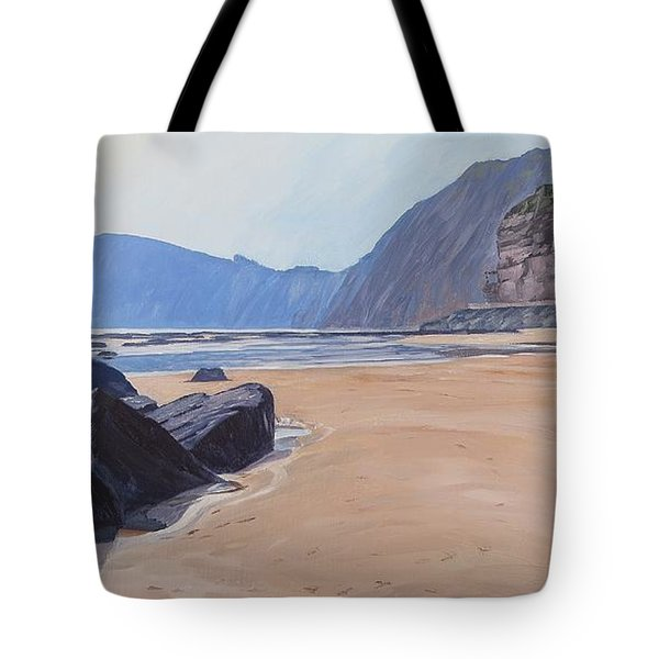 High Peak Cliff Sidmouth Tote Bag