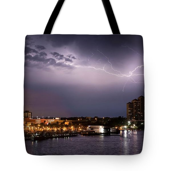 High Point Place Nights Tote Bag
