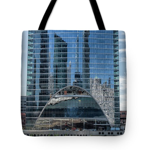 High Rise Reflections Tote Bag by Alan Toepfer
