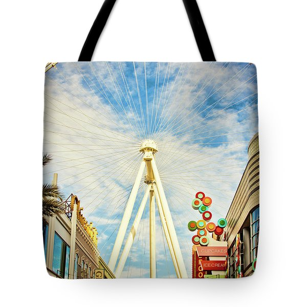 High Roller Wheel, Las Vegas Tote Bag