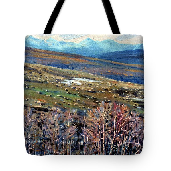 High Sierra Tote Bag by Donald Maier