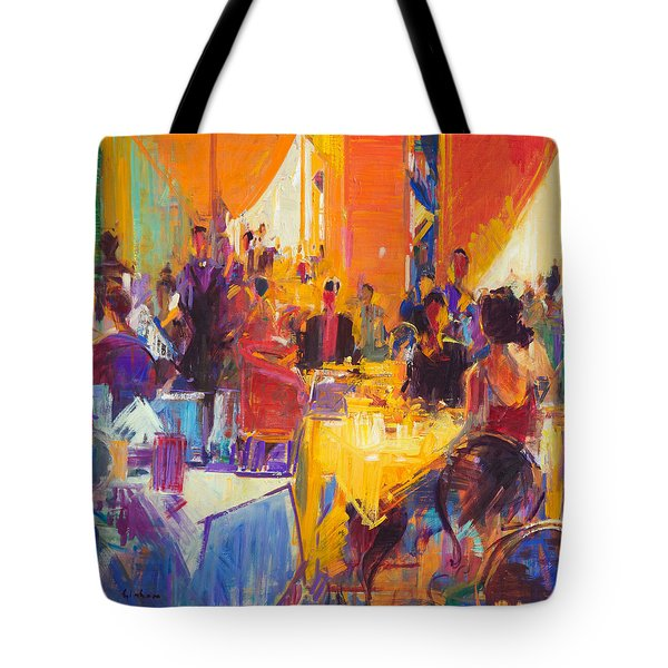 High Society Tote Bag by Peter Graham