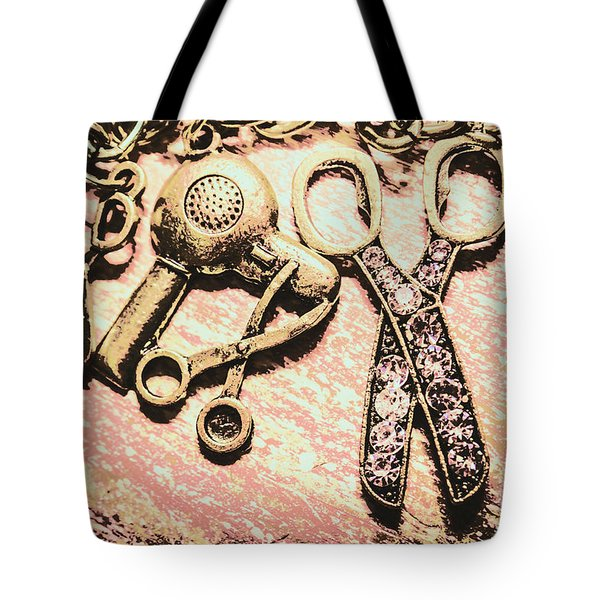 High Style Hairdresser Kit Tote Bag