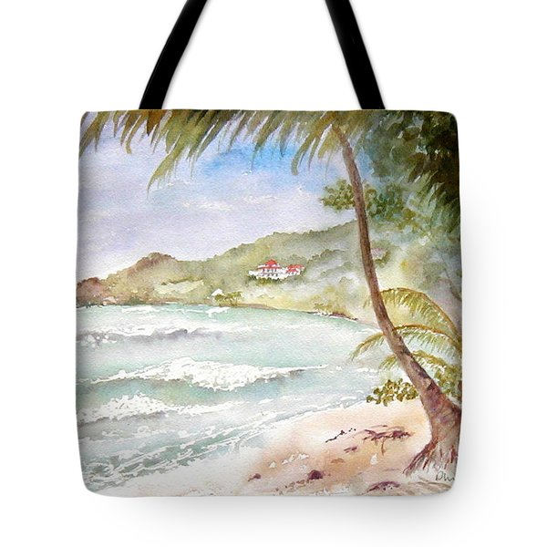 High Surf At Brewers Tote Bag
